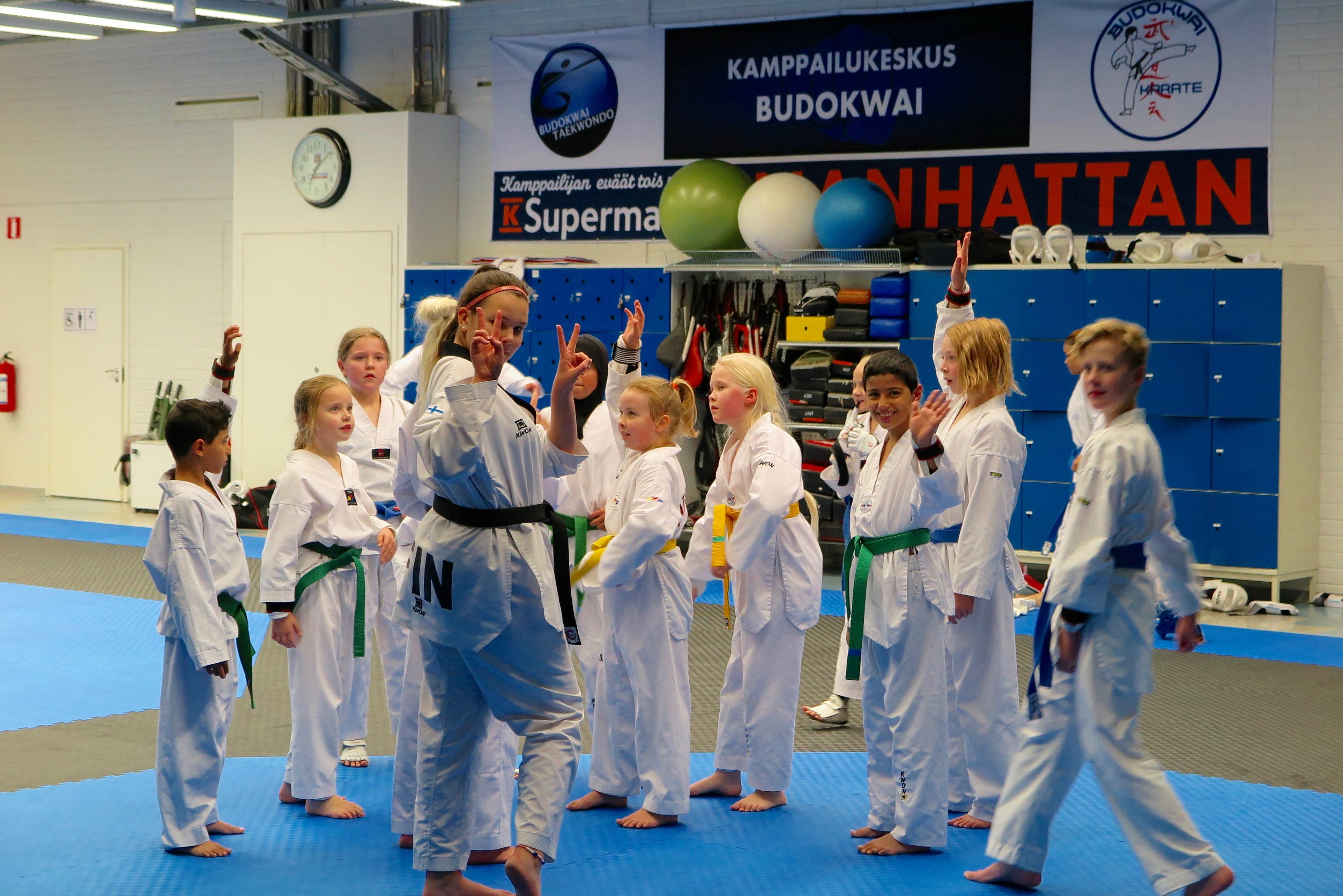 Hyppypotkuin taekwondotreeneihin!